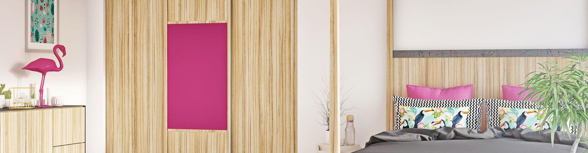 portes de placard coulissantes pour d co tropicale collection cuba libre kazed. Black Bedroom Furniture Sets. Home Design Ideas